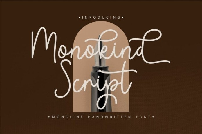 Monokind Script Font