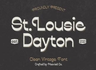 St. Louise Dayton Display Font