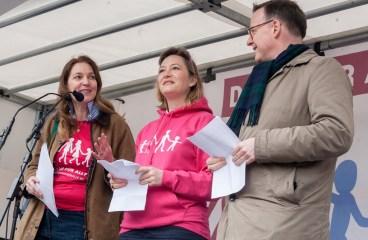 Ludovine de la Rochére: »On ne lâche rien« (wir werden nicht lockerlassen)