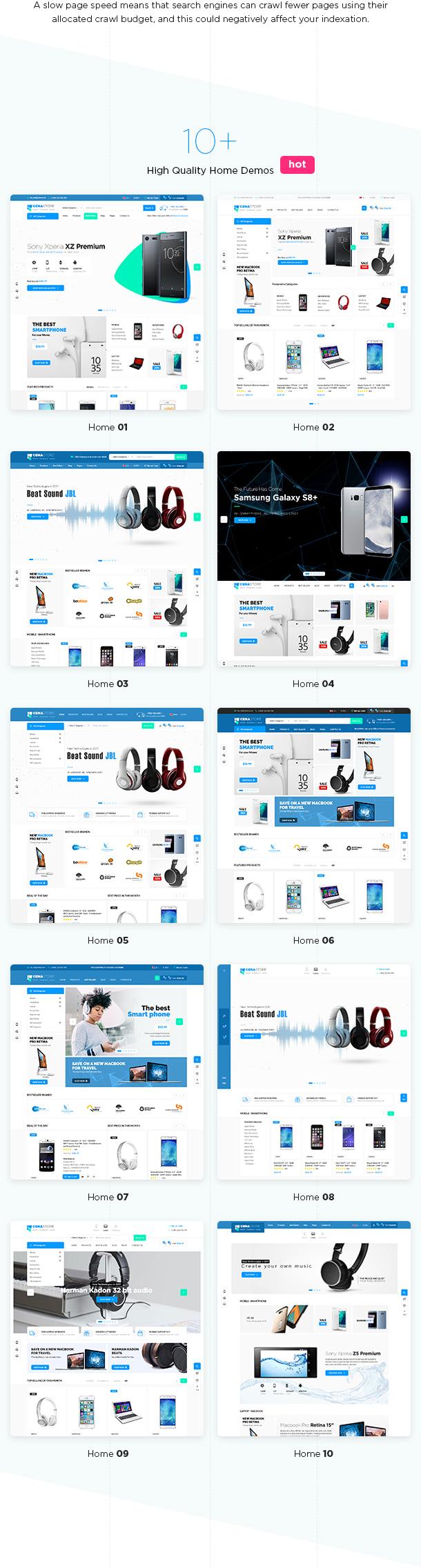Cena Store - Multipurpose WooCommerce WordPress Theme - 8