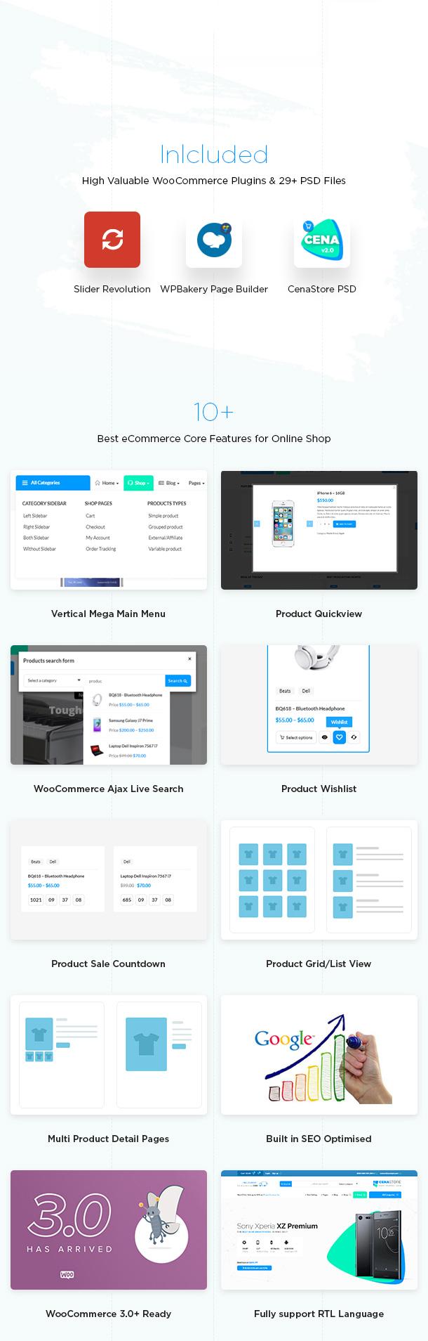 Cena Store - Multipurpose WooCommerce WordPress Theme - 10