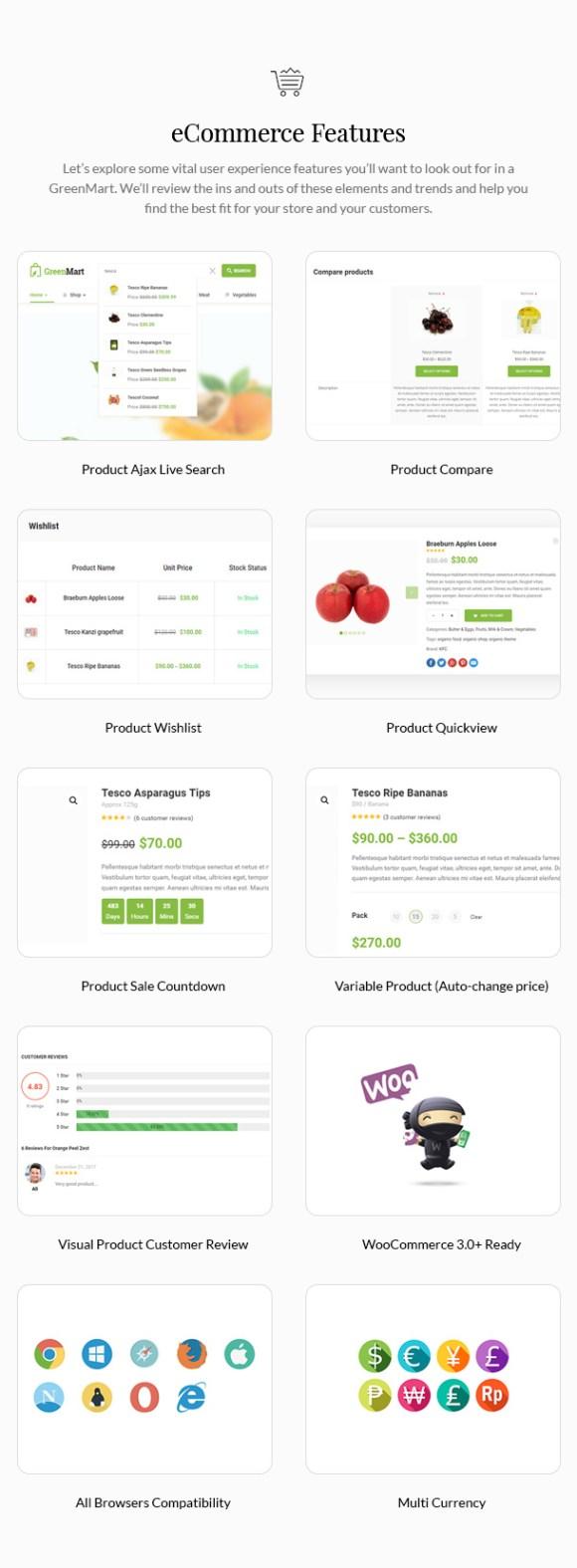 GreenMart – Organic & Food WooCommerce WordPress Theme - 18