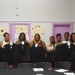 "College Students Receive Blazers at our ""Just Blaze"" Event"