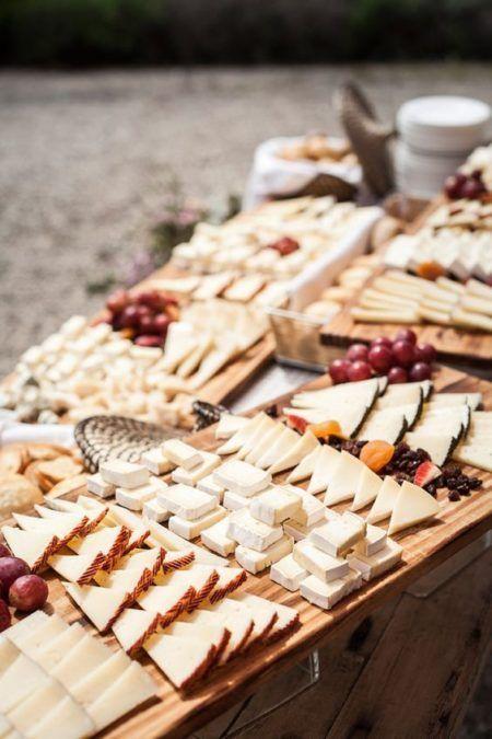 Bars à thème fromage mariage