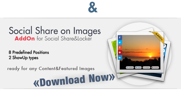 Social Share & Locker Pro WordPress Plugin 10