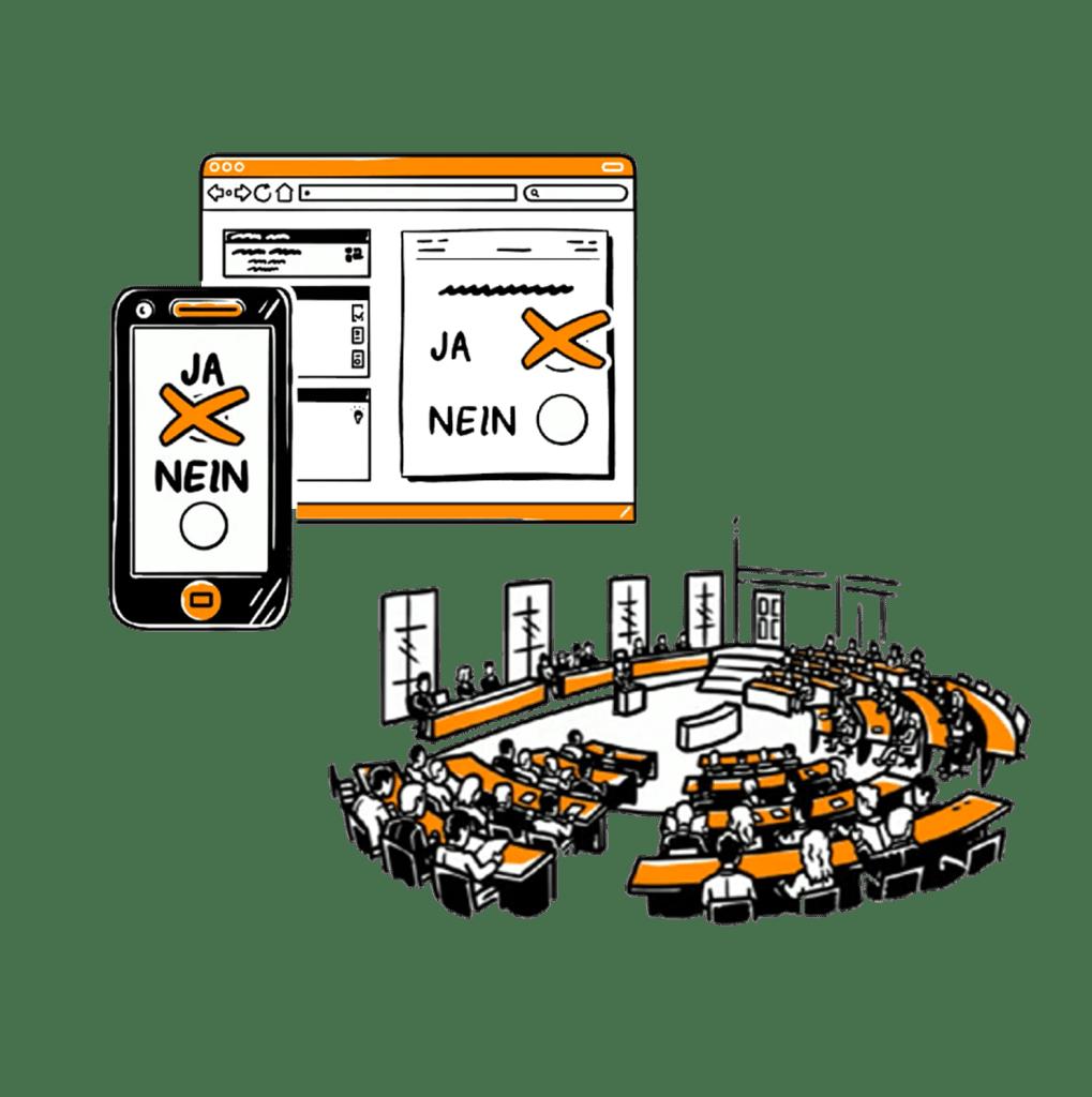 Digitales Parlament