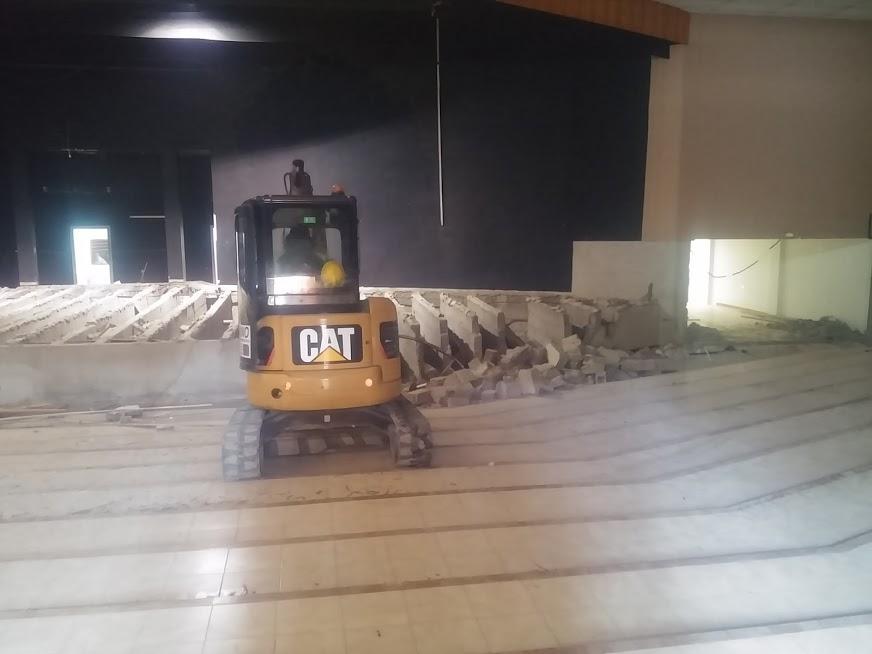 demolicion auditorio el sauzal