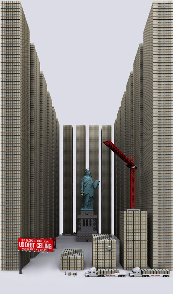 Demonocracy.info - $16,394 Trillion - US Debt Ceiling