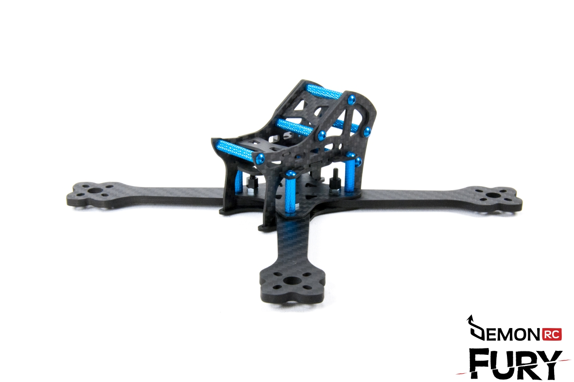 Drc Fury 5x Super Light Racing Acro Frame Kit
