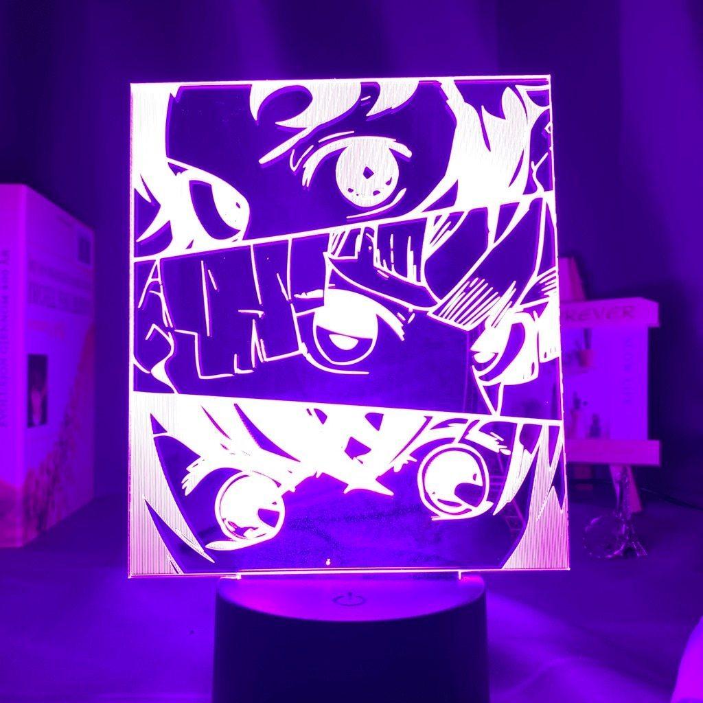 3 Heroes & 3 Senses Lamp