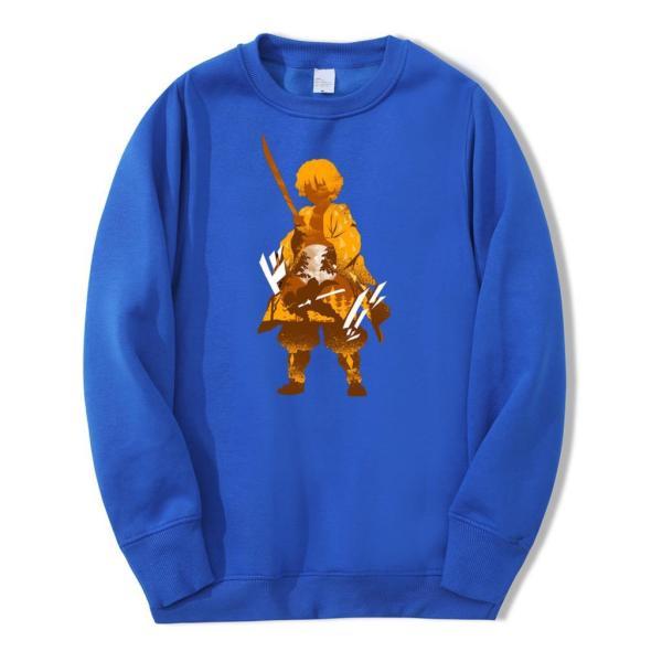 zenitsu sweater blue