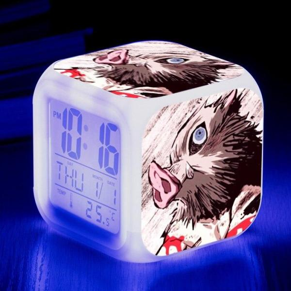 Inosuke Hashibira Alarm Clock - Demon Slayer Merch