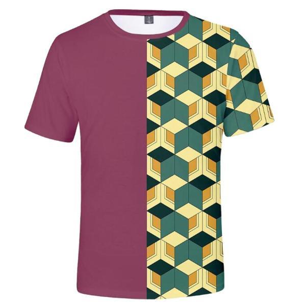 giyuu tomioka pattern shirt