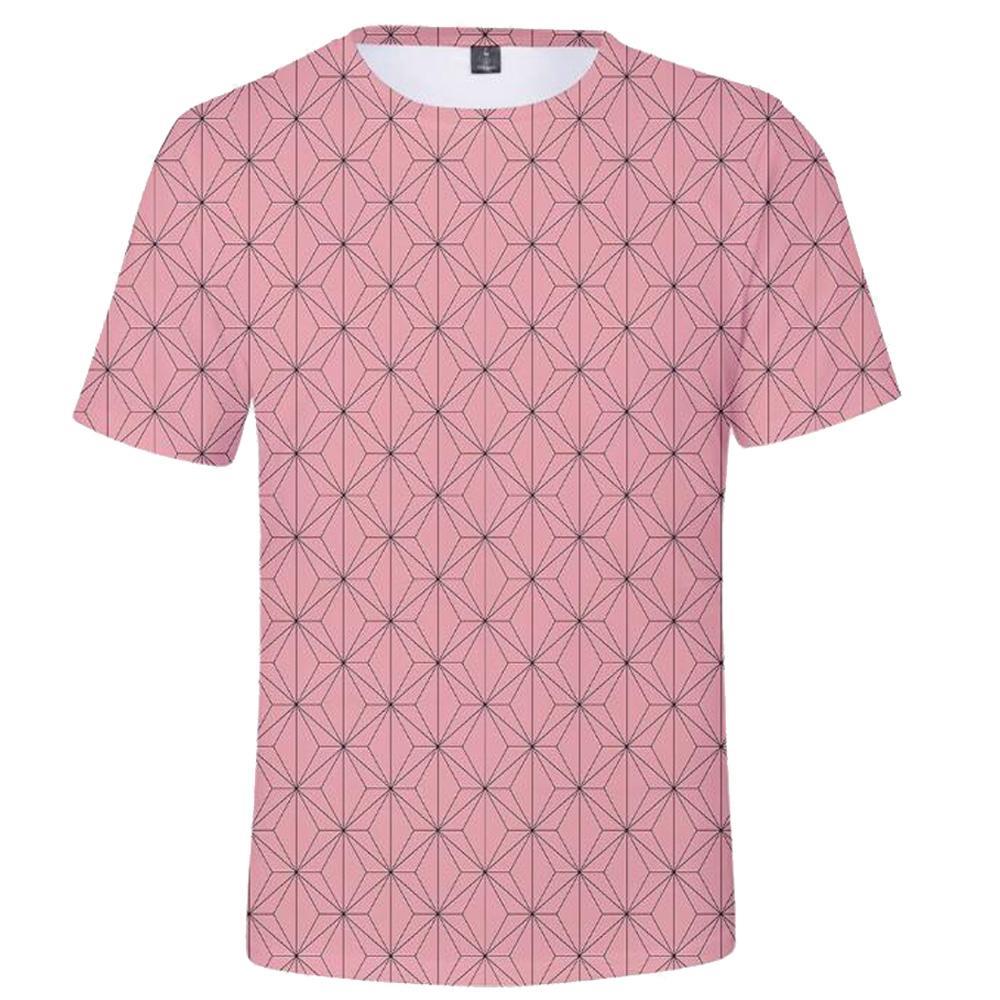 nezuko shirt pattern