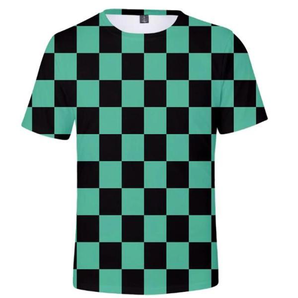 tanjiro shirt pattern