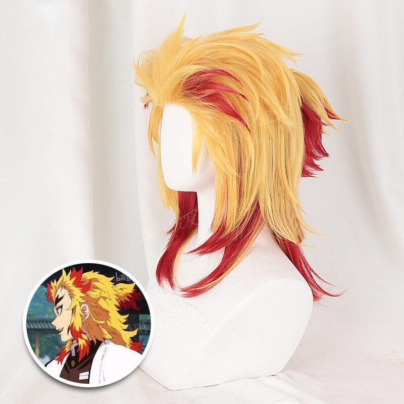 kyojuro rengoku wig