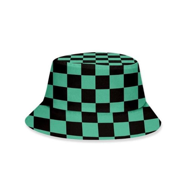 Tanjiro Pattern Bucket Hat