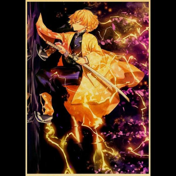 Zenitsu Agatsuma Poster