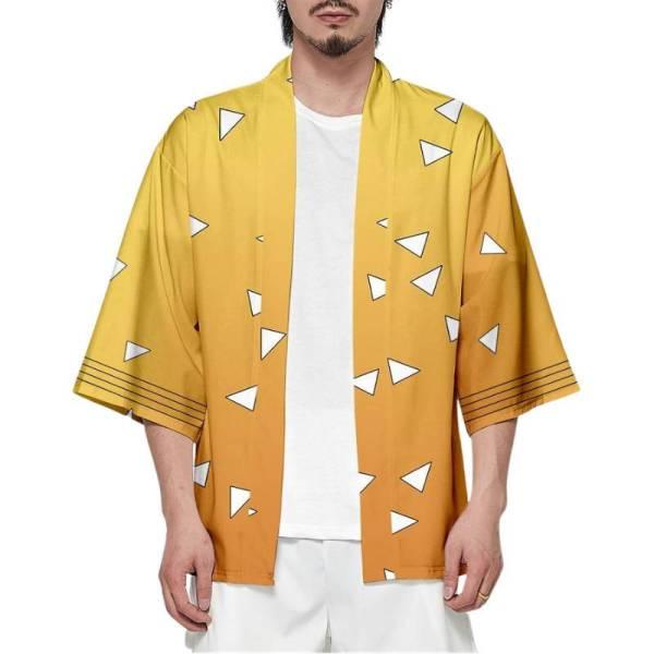 Zenitsu Kimono Pattern