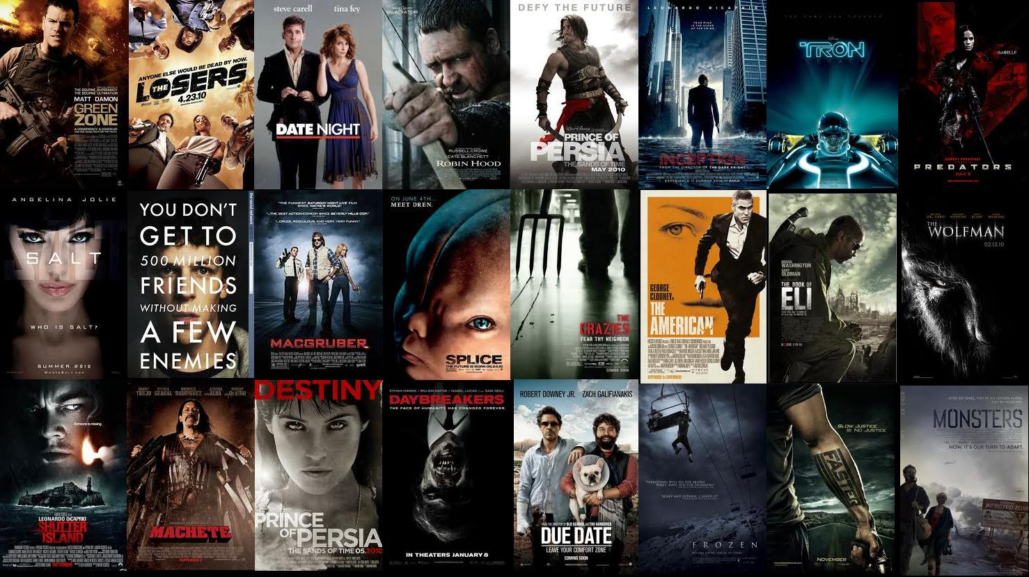 My 20 Favorite Movies Of 2010 Demons Resume