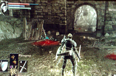 Image result for Demon's souls bloodstain recovered.