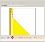 """3-Color Left/Right Mobile Automata"" from the Wolfram Demonstrations Project"