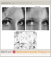 Image Compression via the Singular Value Decomposition