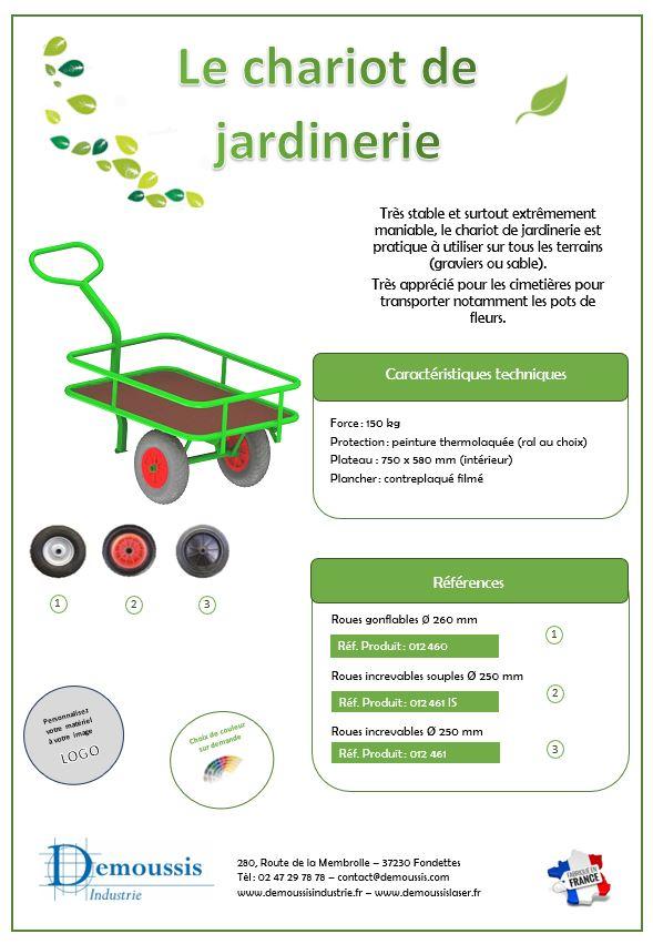 chariot jardinerie