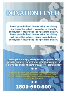 7 Best Donation Flyer Templates | Free Microsoft Word Templates ...
