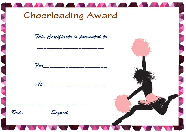 Red And Black Cheerleader Print Out