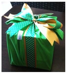 As a gift wrap.