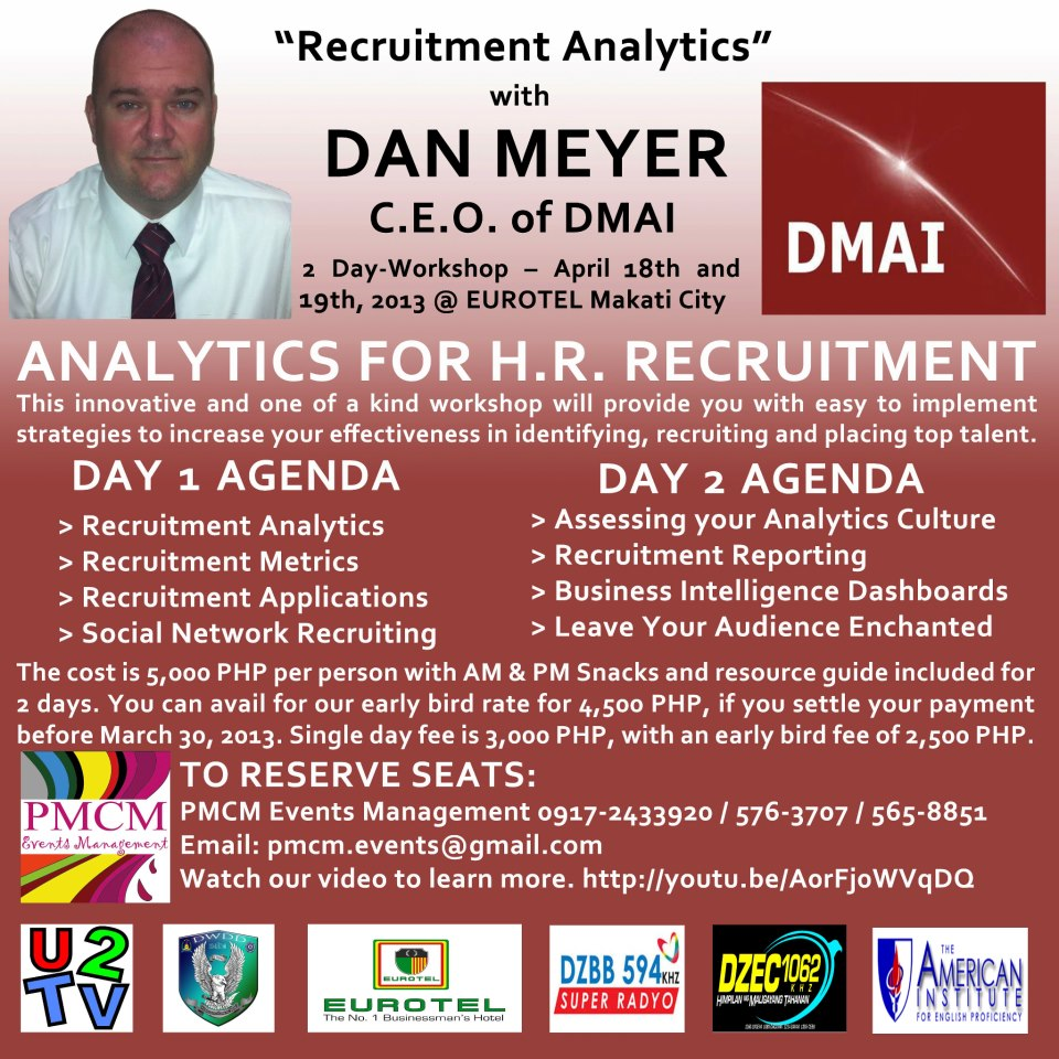 DMAI Analytics for HR Professionals + Quick Giveaway