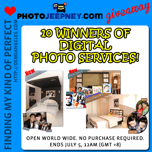 PhotoJeepney, Your Online Photo Studio (Review + Giveaway)