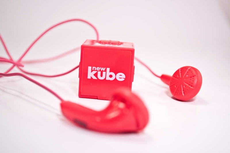 newKube MP3 Player makes International Debut in the Philippines
