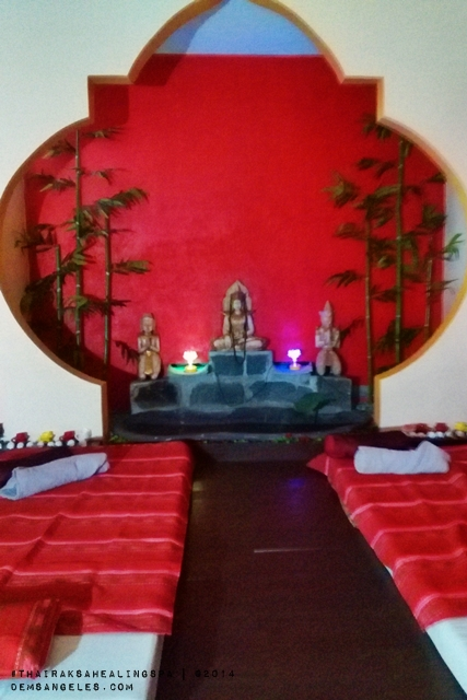 The Healing Room is where Reiki sessions are performed.