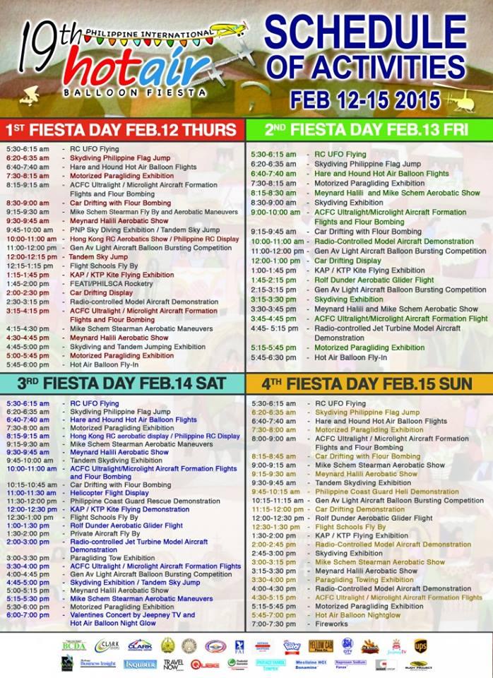 19thHotAirBalloonFestival-schedule