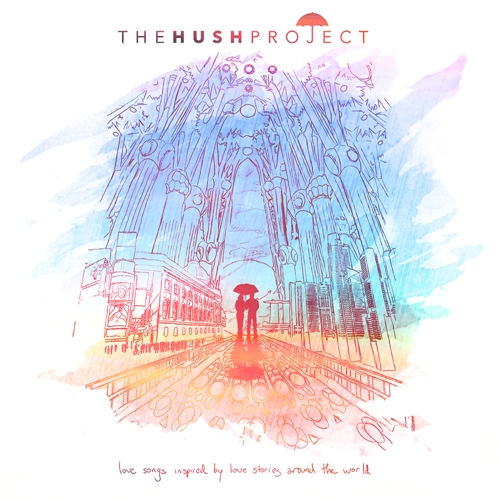 The HUSH Project album cover :)