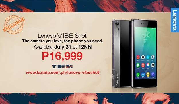 Lenovo Vibe Shot Lazada