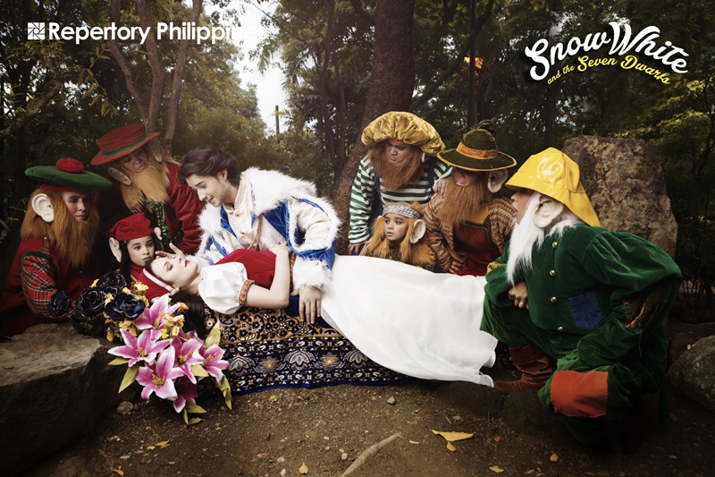 "Repertory Philippines presents ""Snow White and the Seven Dwarfs"""