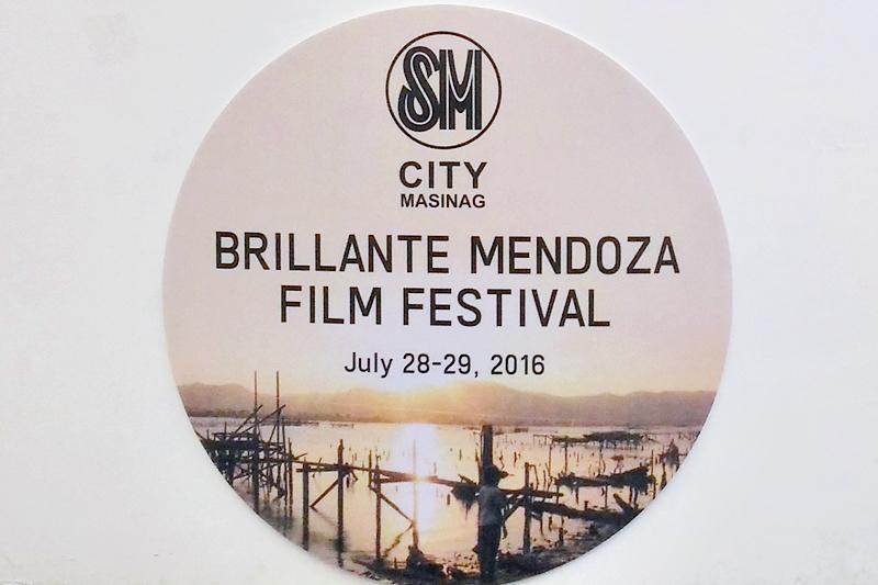 """""""Taklub"""" at Brillante Mendoza Film Festival, SM City Masinag"""