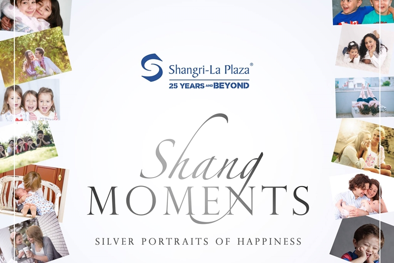 Shang celebrates 25th anniversary with #SilverPortraitsOfHappiness