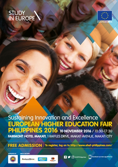 Explore Your Post-Grad Options at the European Higher Education Fair