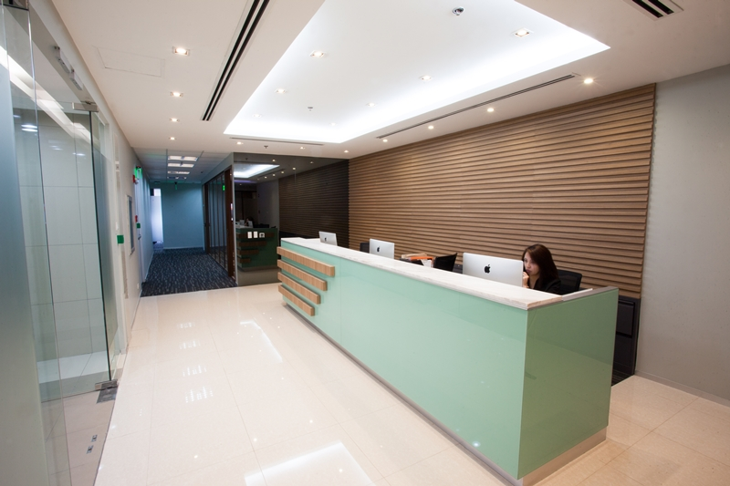 Compass Offices BGC Reception