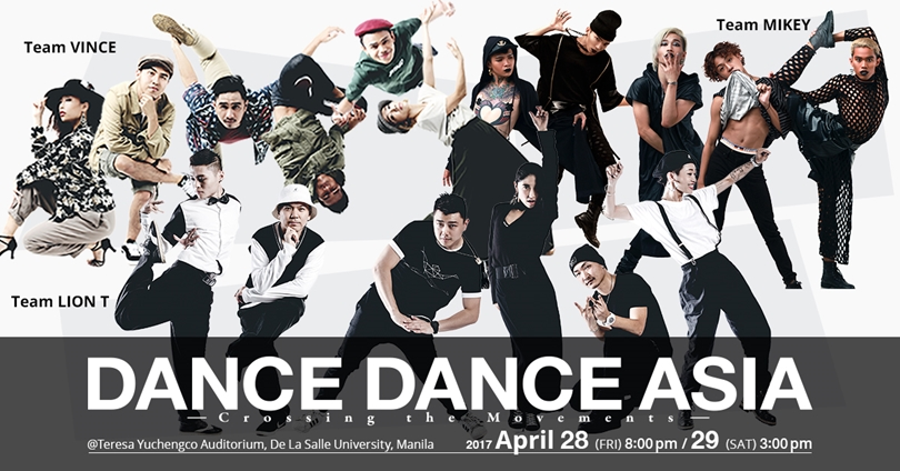 Celebrate International Dance Day with DANCE DANCE ASIA – Crossing the Movements