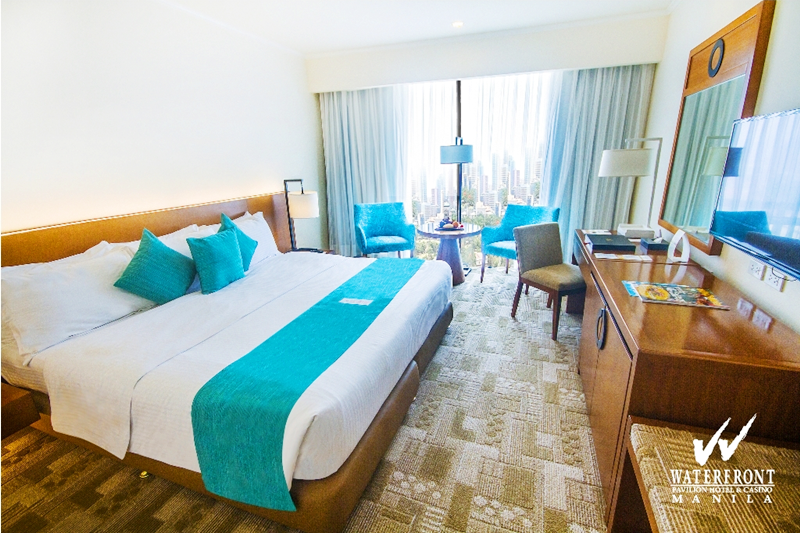 A room at Waterfront Manila Pavilion Hotel