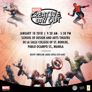 5 things to look forward to at Marvel Creative Day Out 2018