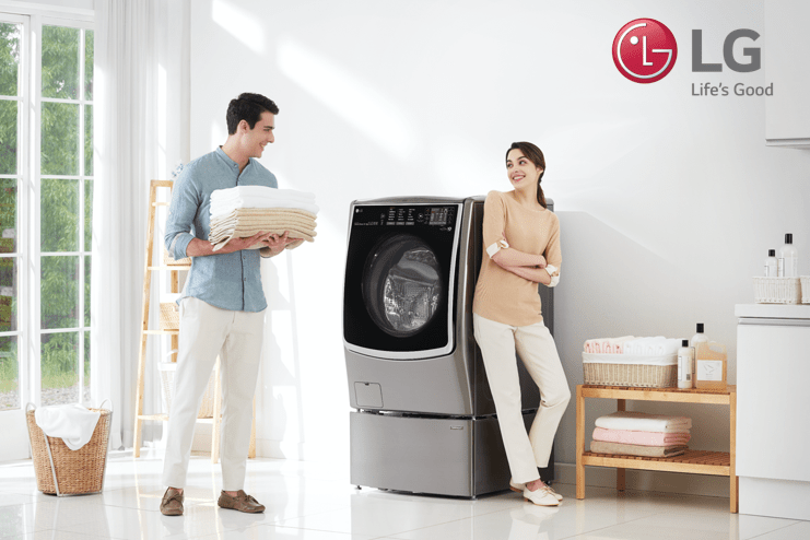 LG celebrates the modern family with smart appliances