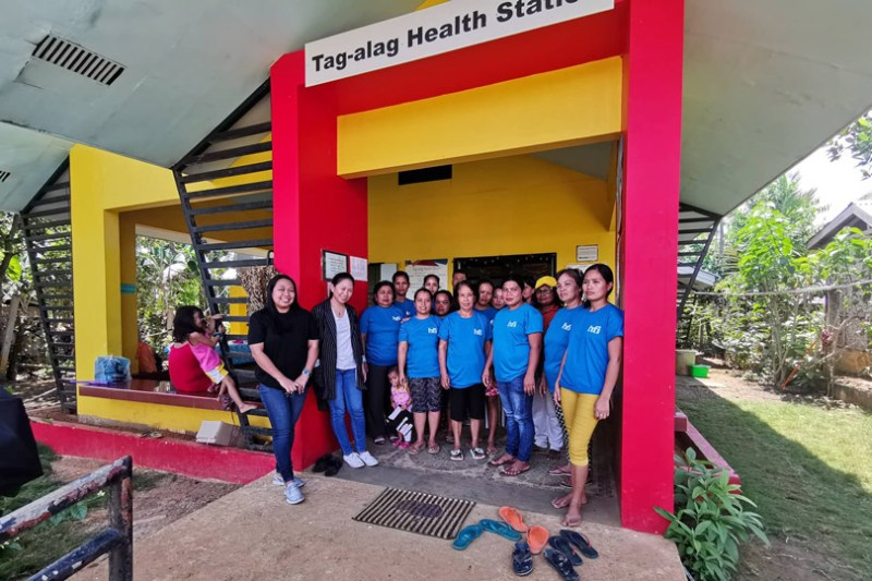 Sun Life Rise Brighter PH - Barangay Health Station in Tag-Alag, Samar