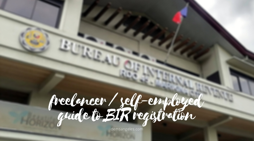 BIR Registration for Freelance Writers and Other Non-Licensed Professionals (2021)