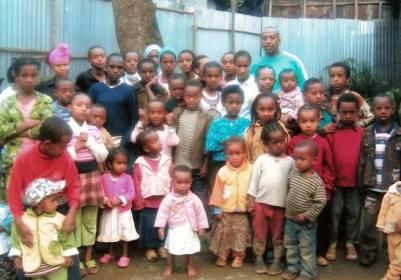 Help een kind naar school